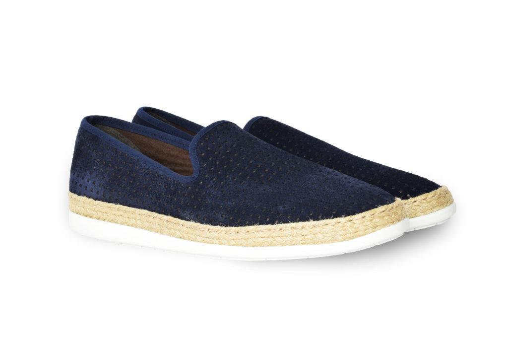 scarpa uomo blu (fronte)