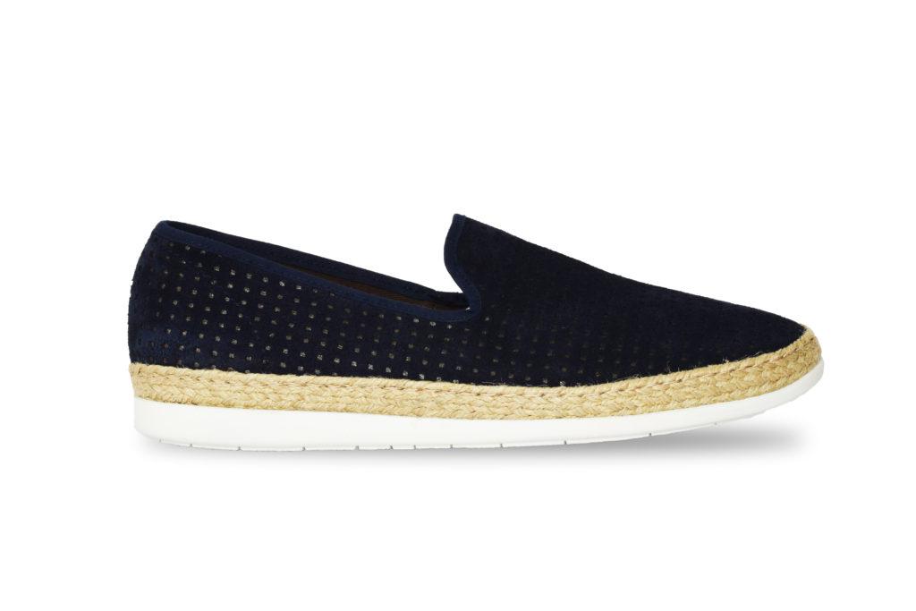 scarpa uomo blu (profilo)