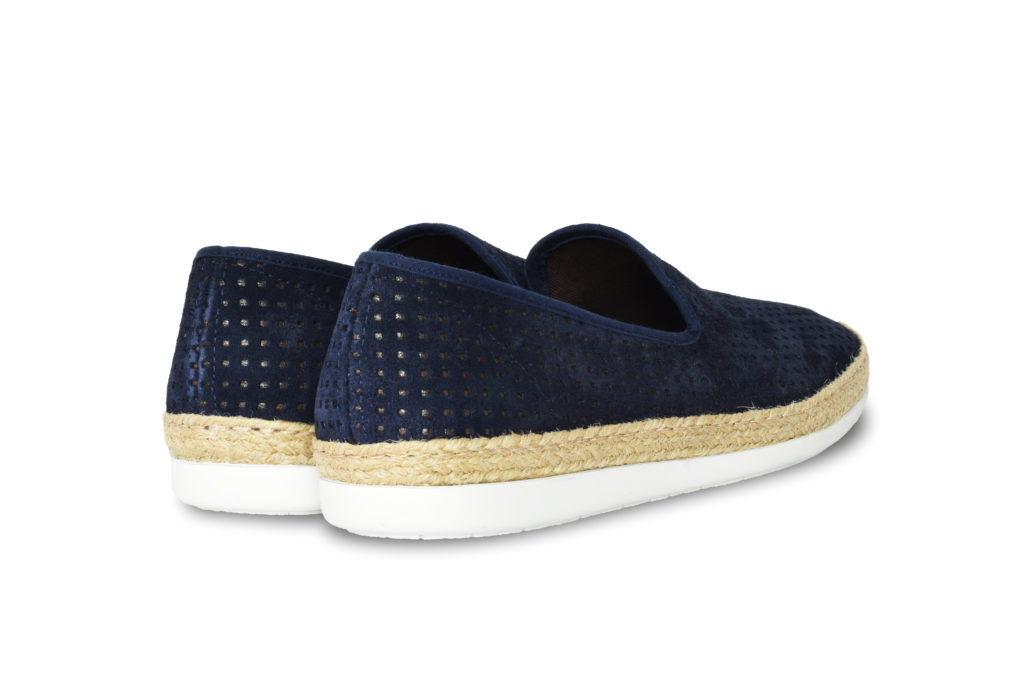 scarpa uomo blu (retro)