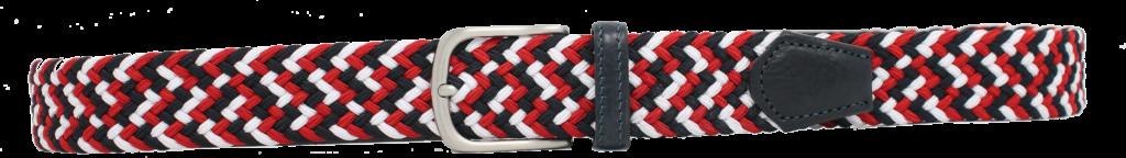 802-35 Bianco,rosso,blue x-cutout
